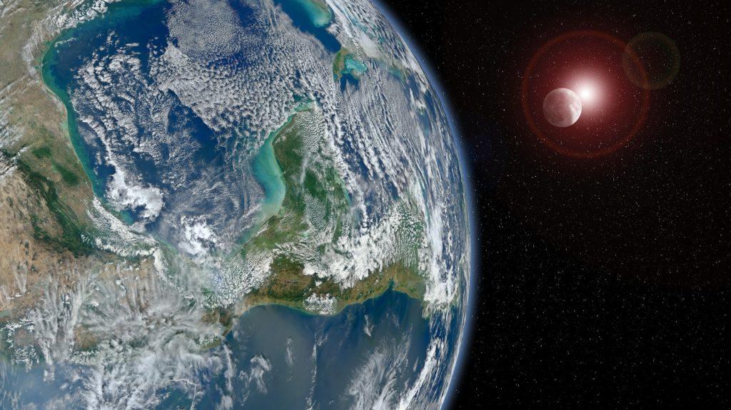 地球-月-太陽