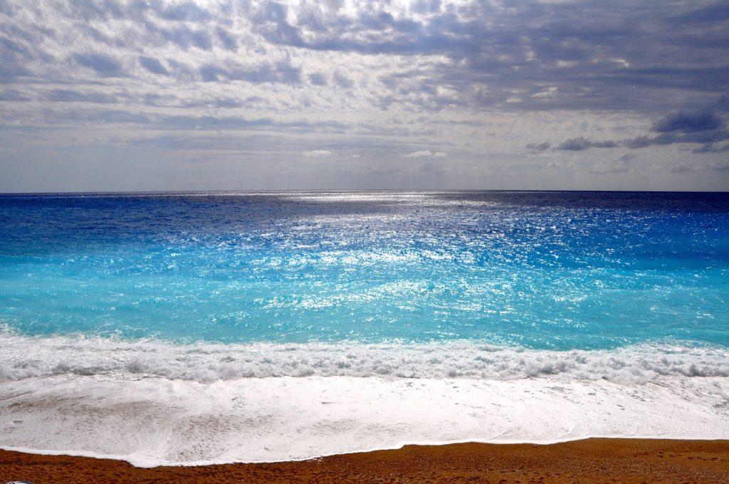 ビーチ-レフカダ島