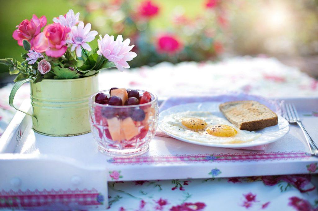朝食-トースト