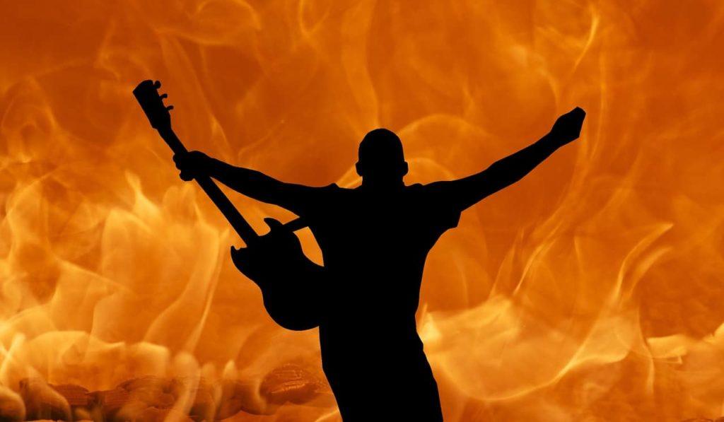 ギター-ロック