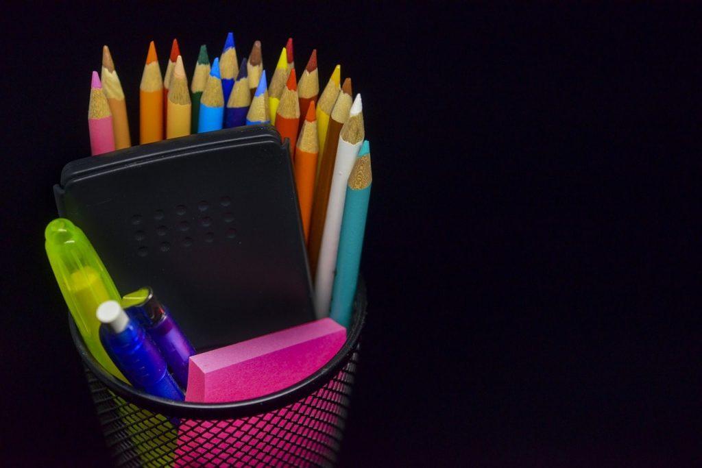 筆記用具-小学校