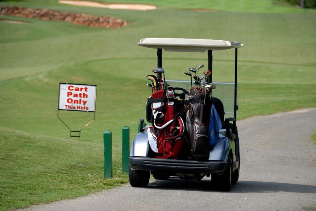 ゴルフ-キャディー