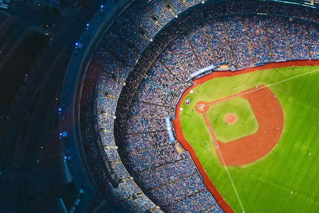野球-野球場