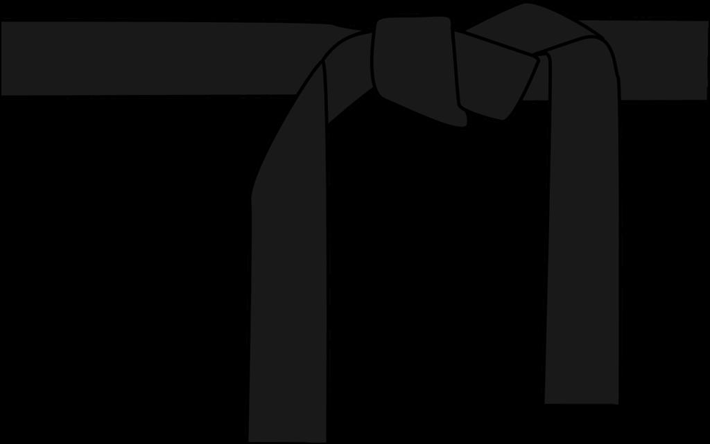 空手-黒帯