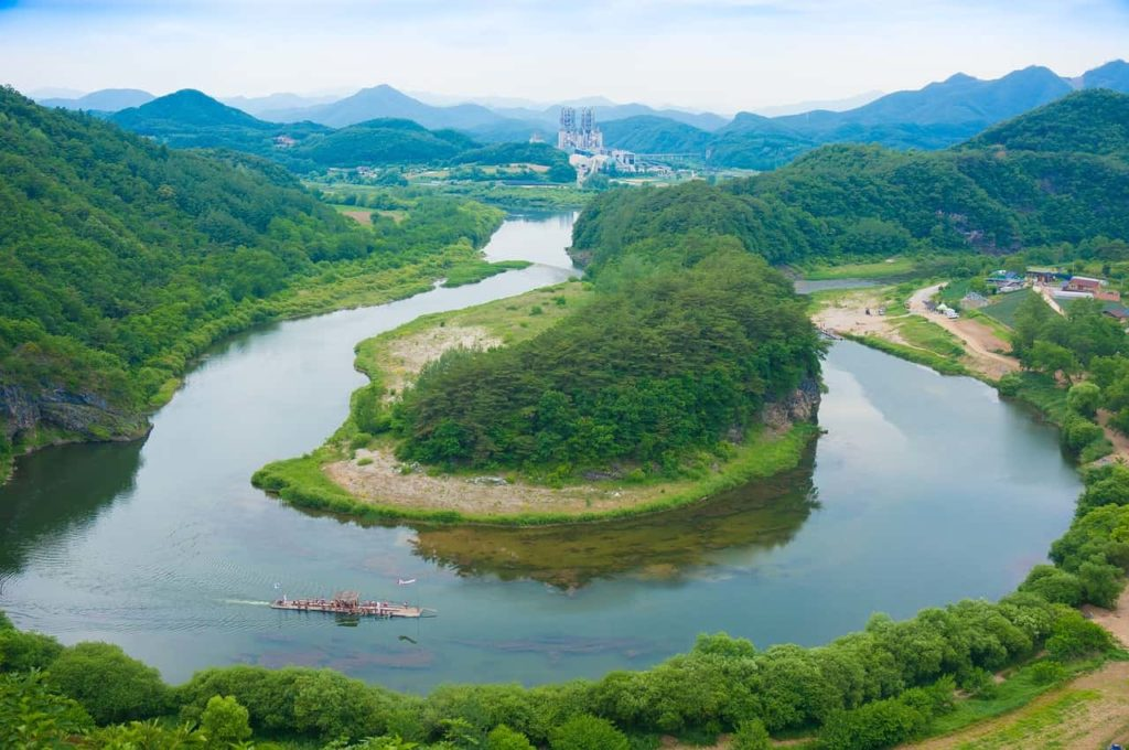 朝鮮半島-地形